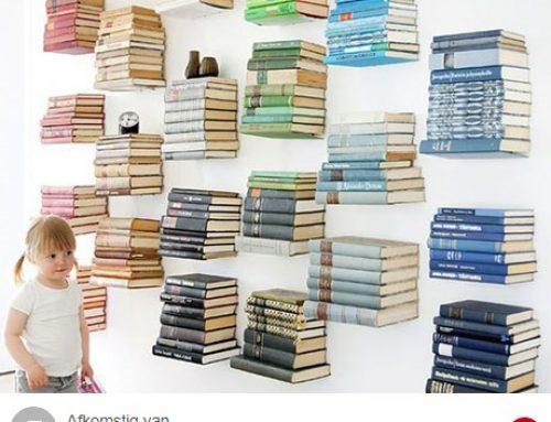 Onzichtbare boekenplanken