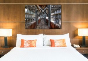 Urbex slaapkamer