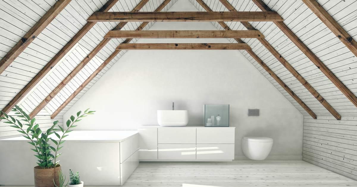 hout plafond