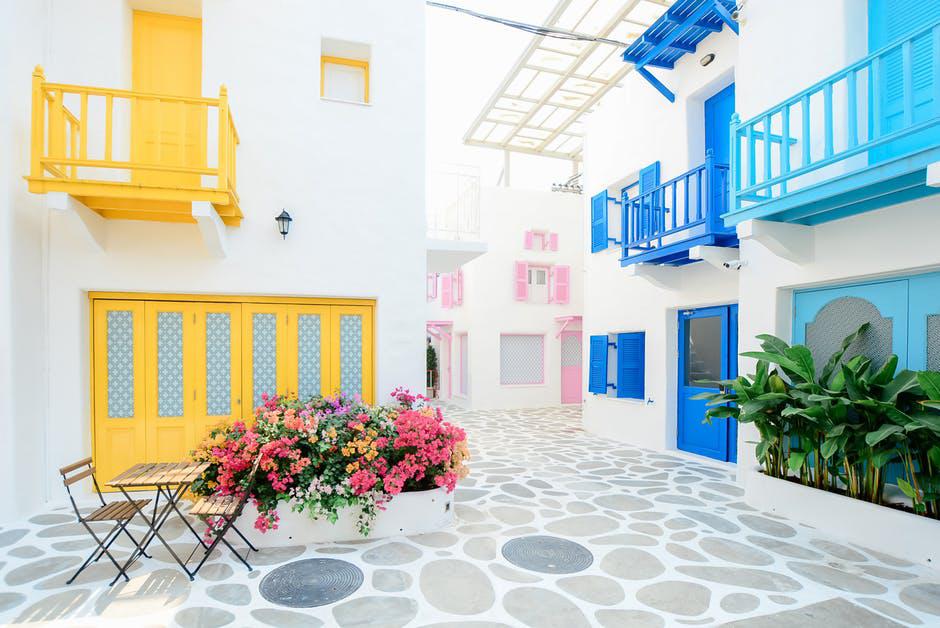 Mediterranean tiles