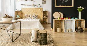 hout slaapkamer