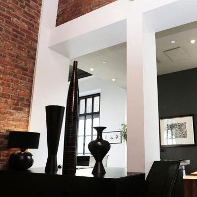 Zwart wit interieur