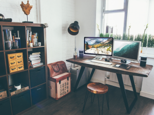 kantoorinrichting thuis