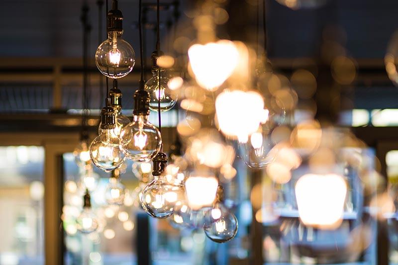 Verlichting losse lampen