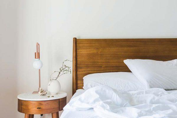 Slaapkamer inspiratie bed