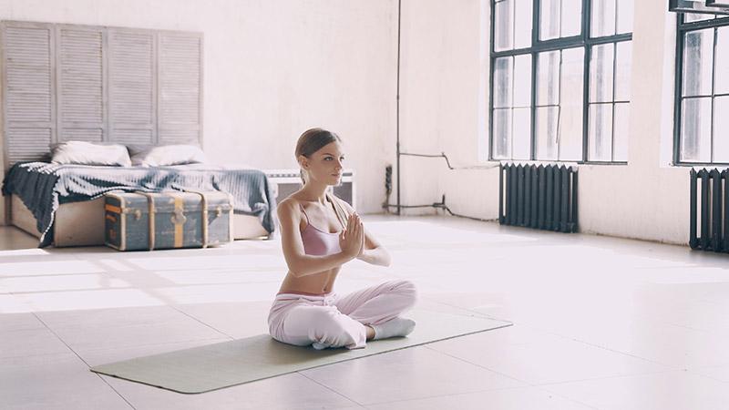 Meditatie slaapkamer