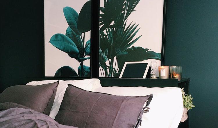 Slaapkamer muur