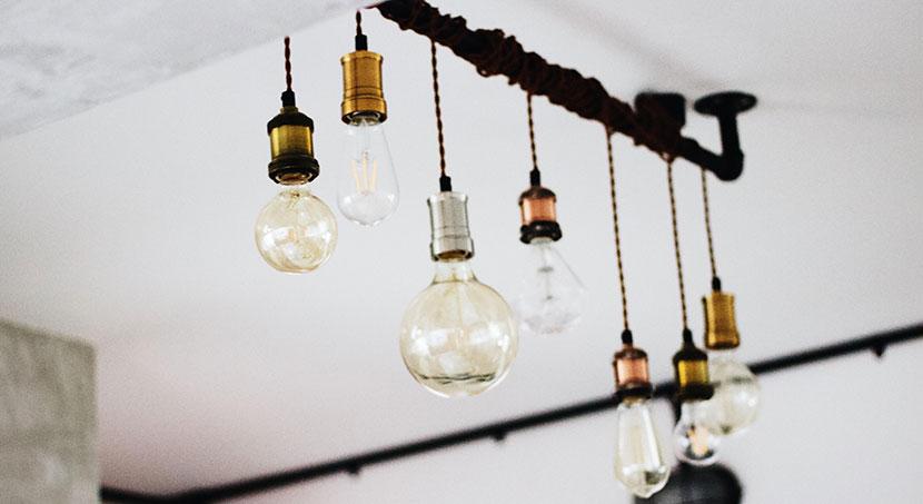 Betonlook lampen industrieel