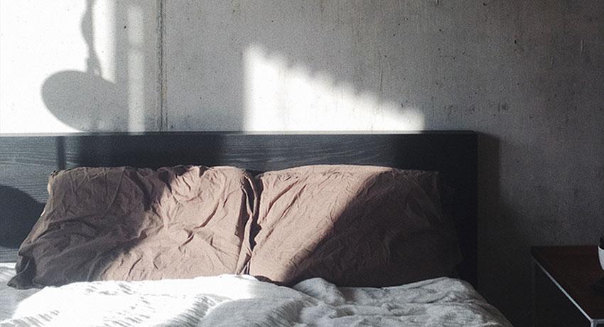 Betonlook verf slaapkamer