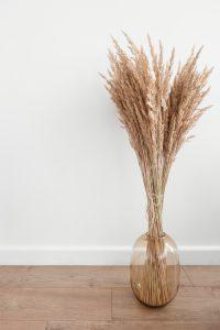 woontrends 2021 gedroogde bloemen