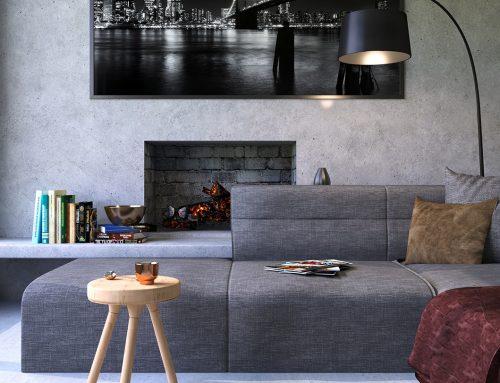 Geef je interieur een betonlook met betonlook verf