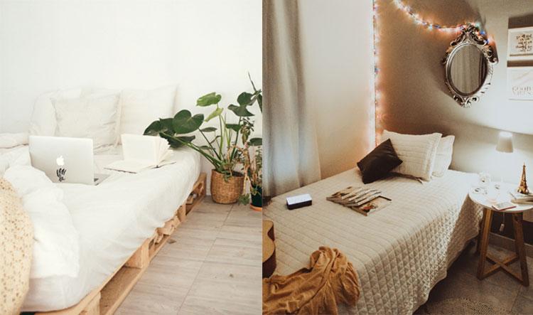 klein bed verhogen opslagruimte