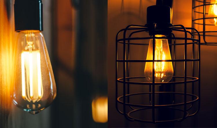 verschillende soorten industriele hanglampen