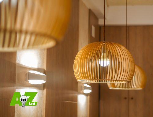De houten plafondlamp, de nieuwe trend van 2020
