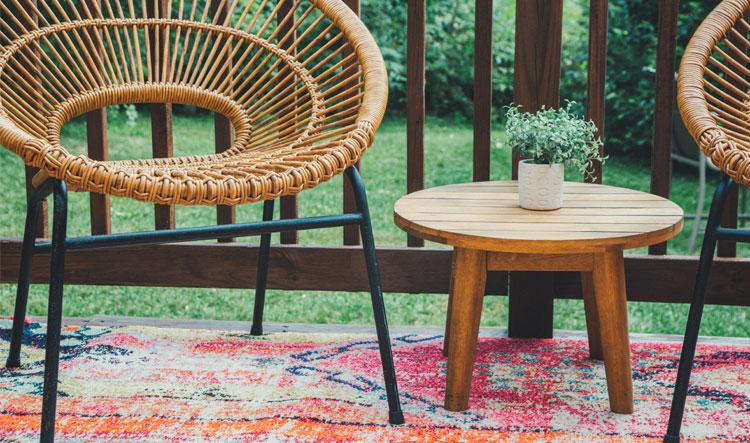 meubels voor veranda inrichten