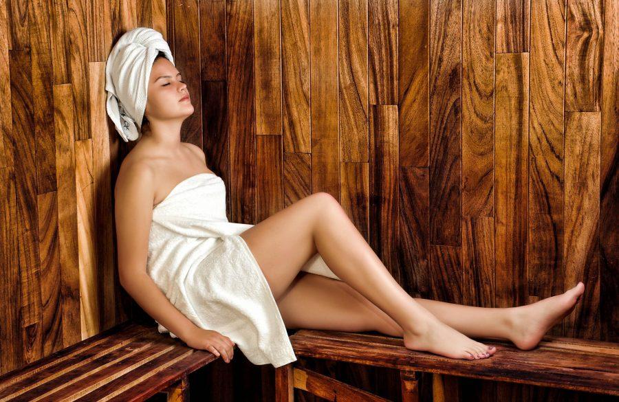 Ongesteld sauna