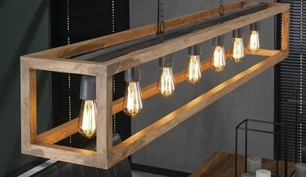 kale lampen - industriele kantoorinrichting