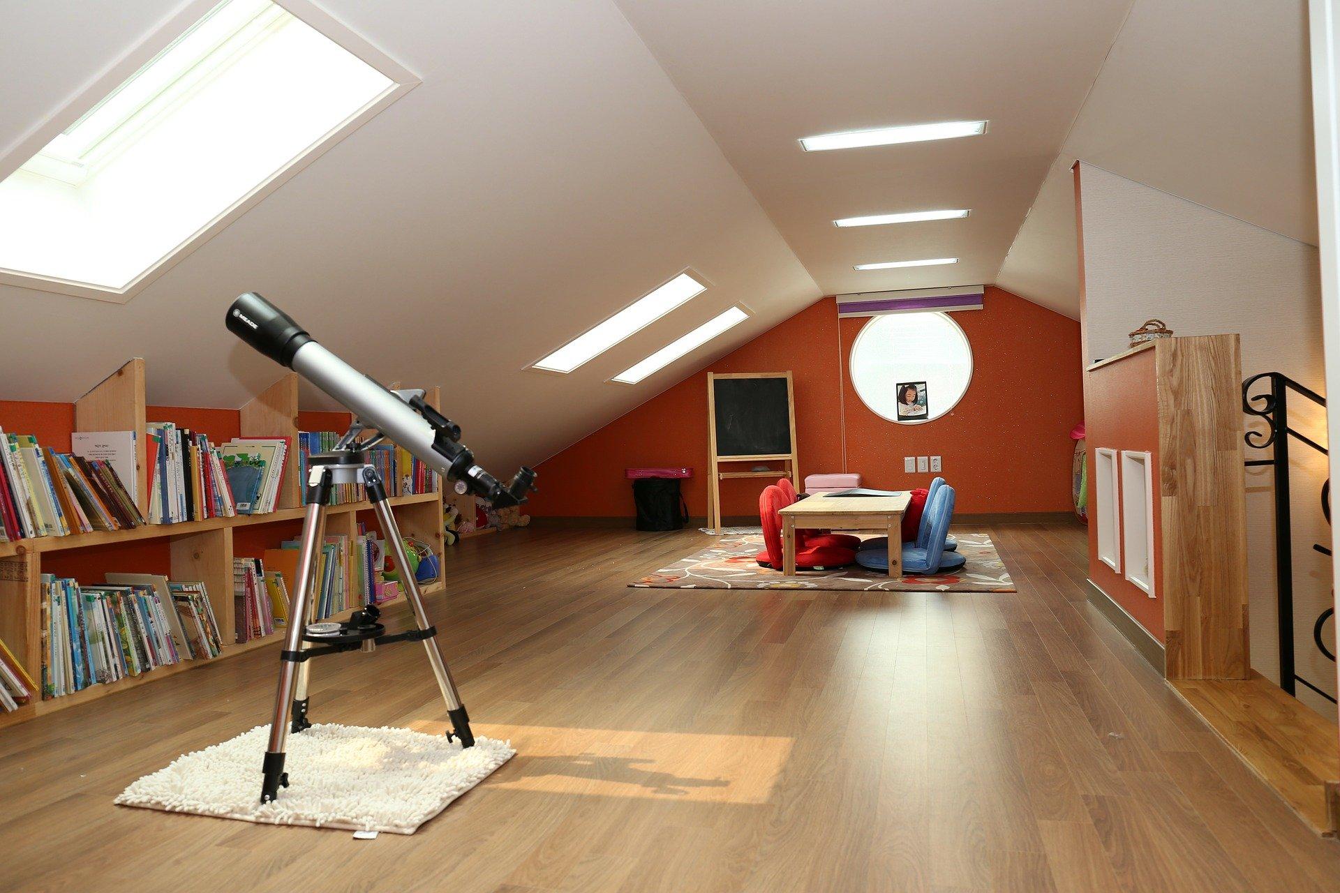 Wat te doen met een lege zolderkamer?