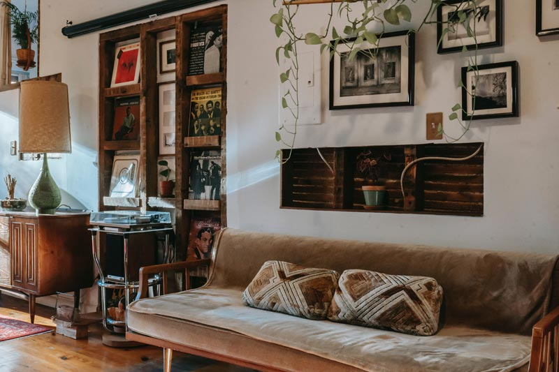 boho vintage interieur