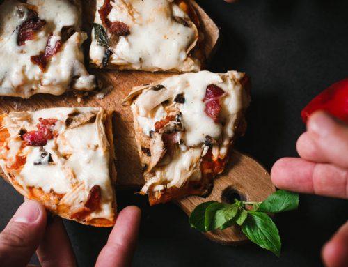 De trend deze winter: Pizza van de BBQ