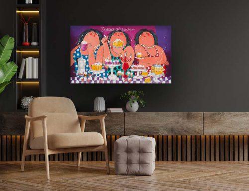 Top 3 Dikke Dames schilderijen voor meer gezelligheid in huis